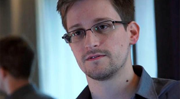 U.S. National Security Agency whistleblower Edward Snowden, an analyst with a U.S. defence contractor