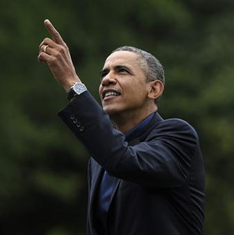 Barack Obama is unlikely to send in US air power to enforce a no-fly zone over Syria (AP/Susan Walsh)