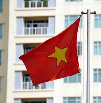 A well-known blogger has been arrested in Vietnam