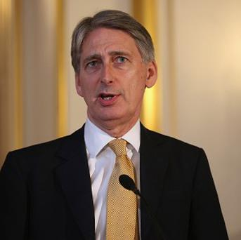 Defence Secretary Philip Hammond has visited Camp Bastion in Afghanistan