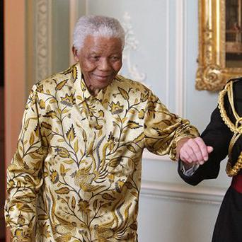 There has been sustained improvement in the condition of Nelson Mandela