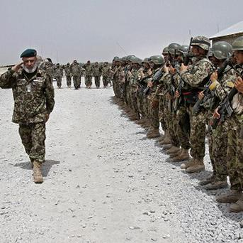 The transition is a major milestone in the war, with the coalition insisting Afghan security forces are strong enough to fight the Taliban (AP
