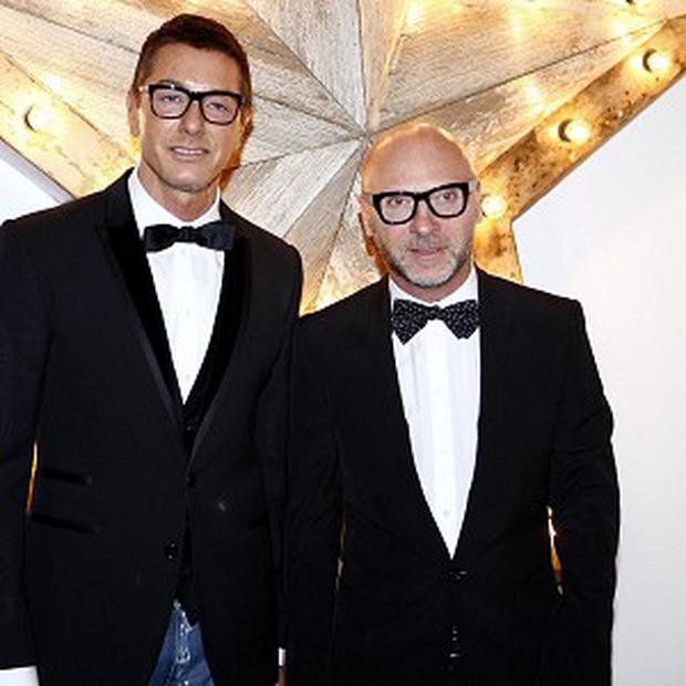 Stefano Gabbana (left) and Domenico Dolce have been convicted of tax evasion in Italy