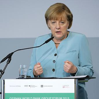 German Chancellor Angela Merkel wants Russia to return German art looted in the Second World War