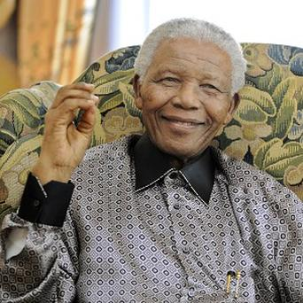 Nelson Mandela was taken to hospital on June 8 for what the government said was a recurring lung infection