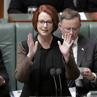 Australian prime ministerJulia Gillard has lost the leadership of her party (AP)