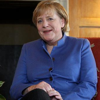 German Chancellor Angela Merkel says the risks of shipping weapons to Syrian rebels would be incalculable