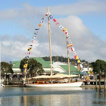 The yacht Nina has been missing for three weeks between New Zealand and Australia (AP/Maritime New Zealand)