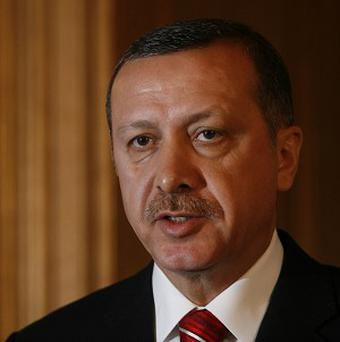 Defendants were accused of being part of ultranationalist group called Ergenekon, which prosecutors say plotted to kill the prime minister Recep Tayyip Erdogan (pictured) and stage a coup d'état