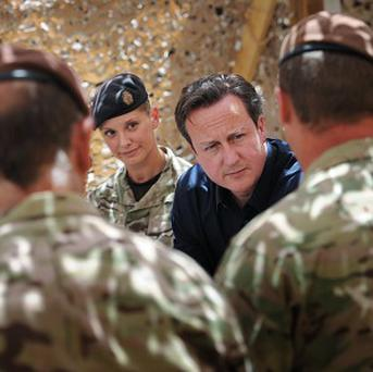 Prime Minister David Cameron gave a statement in the Commons on his recent EU and Afghanistan trips