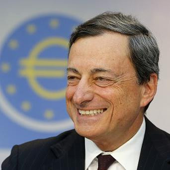 President of the European Central Bank Mario Draghi says the bank will keep it key interest rate low (AP)