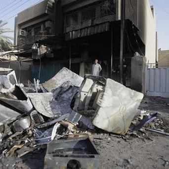 At least 17 people were killed in suicide attacks, bombings and shootings in Iraq on Wednesday (AP)