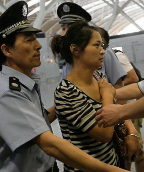 Wang Linjia: mother of one of the two girls killed in crash