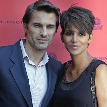 Halle Berry and Olivier Martinez have tied the knot at a church in France's Burgundy region (AP)