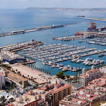 Alicante, where suspected British drugs baron Brian Charrington was arrested.