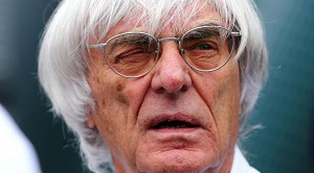 Formula One Boss Bernie Ecclestone, who has been charged in Germany in a bribery case (AP)