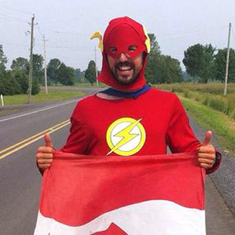 Jamie McDonald hopes to run the equivalent of more than 200 marathons in 275 days across Canada