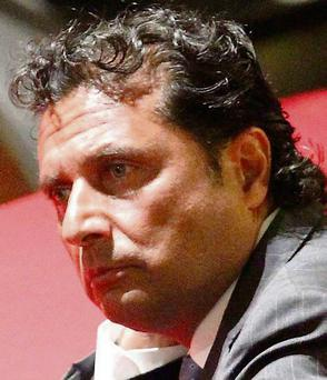 Francesco Schettino, captain of the Costa Concordia cruise ship