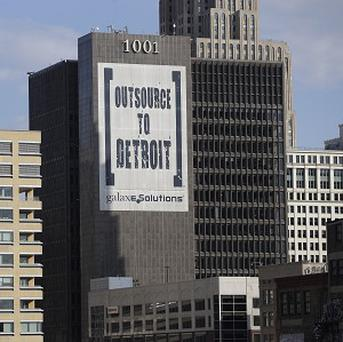 Detroit lost a quarter of a million residents between 2000 and 2010 (AP)