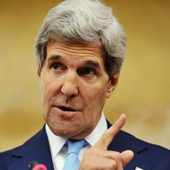 John Kerry is to consult Israeli and Palestinian leaders before ending his visit to the Middle East (AP/Mandel Ngan)