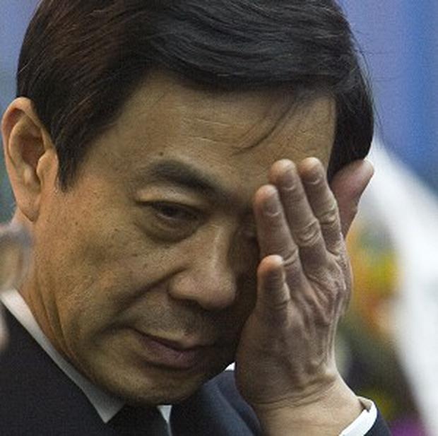 Disgraced Chinese politician Bo Xilai has been charged with corruption,accepting bribes and abuse of power (AP)