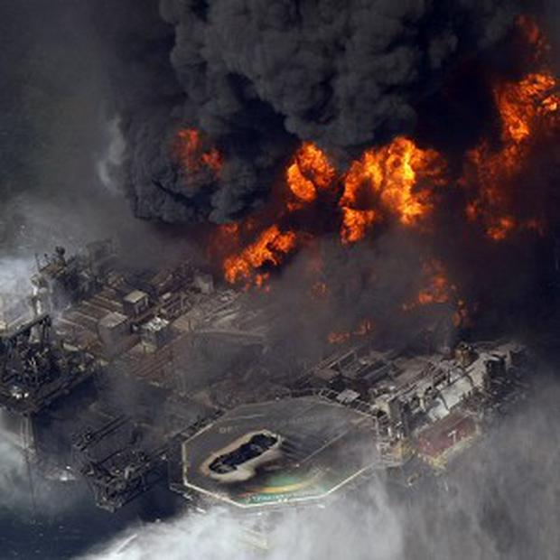 Halliburton was BP's cement contractor on the drilling rig that exploded in 2010 after a well blow-out in the Gulf of Mexico