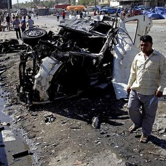 Two other separate car bombs went off in the northern Hurriyah neighbourhood, killing six bystanders and wounding 23 others