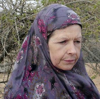 Judith Tebbutt was snatched by Somali gunmen in an attack during which her husband David Tebbutt was killed (AP)