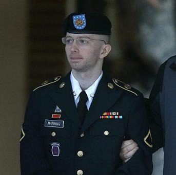 Bradley Manning's lawyers are trying to get his eventual sentence reduced (AP)