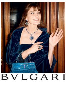 Former French First Lady Carla Bruni is now fronting campaign for Bulgari Pic: Vogue UK