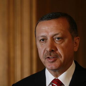 Turkish Prime Minister Recep Tayyip Erdogan has criticised the West over its stance on the crisis in Egypt