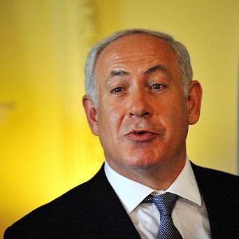Israeli Prime Minister Benjamin Netanyahu has issued a warning after rockets were fired at Israel.