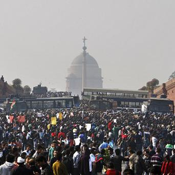 The Indian bus rape sparked massive protests (AP)
