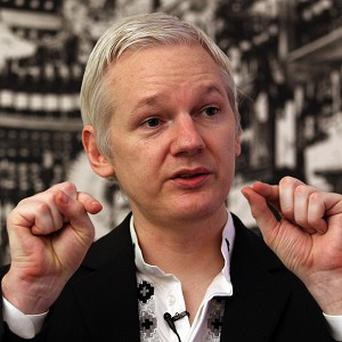 WikiLeaks founder Julian Assange suggested that the bag may have been illegally seized