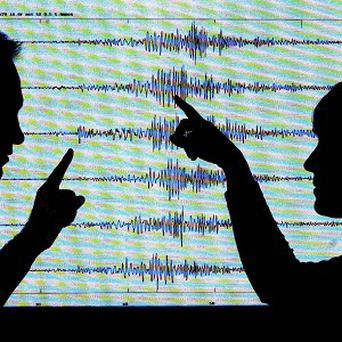 The Japan Meteorological Agency said the quake registered a magnitude of 6.9