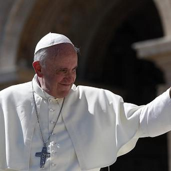 Pope Francis has called for dialogue and negotiation to resolve the crisis in Syria (AP)