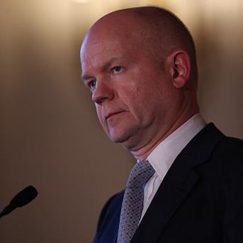 Foreign Secretary William Hague will meet Iranian foreign minister Mohammad Javad Zarif