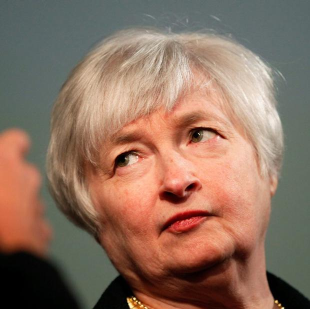 Janet Yellen, vice chair of the Board of Governors of the U.S. Federal Reserve System, is shown prior to addressing the University of California Berkeley Haas School of Business in Berkeley, California in this file photo from November 13, 2012. Former Treasury Secretary Lawrence Summers' withdrawal from consideration to succeed Federal Reserve Chairman Ben Bernanke turns the focus on Janet Yellen. REUTERS/Robert Galbraith/Files (UNITED STATES - Tags: BUSINESS POLITICS EDUCATION)