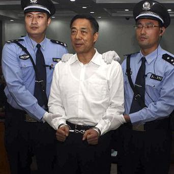 Fallen Chinese politician Bo Xilai is appealing against his conviction (AP)