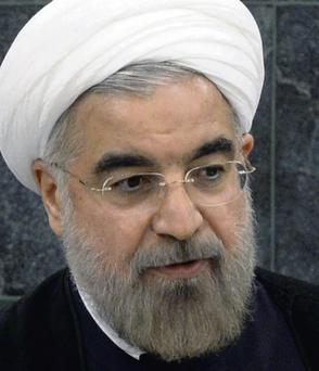 Hasan Rouhani, President of the Islamic Republic of Iran, addresses the 68th United Nations General Assembly at UN headquarters