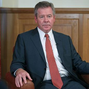 Russian deputy foreign minister Gennady Gatilov said the text of the resolution would include a reference to Chapter 7 of the UN Charter (AP/Mikhail Metzel)