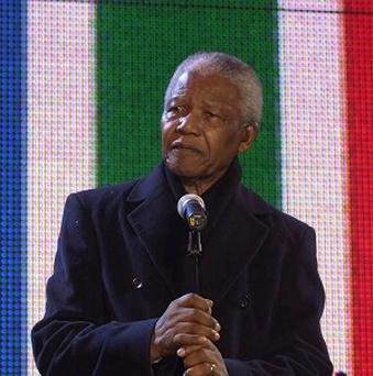 Nelson Mandela was discharged from hospital on September 1, where he was being treated for a recurring lung infection