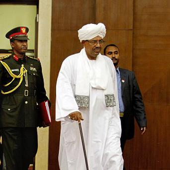 Sudanese President Omar al-Bashir would have been the first head of state to address the UN General Assembly while facing international war crimes and genocide charges (AP)