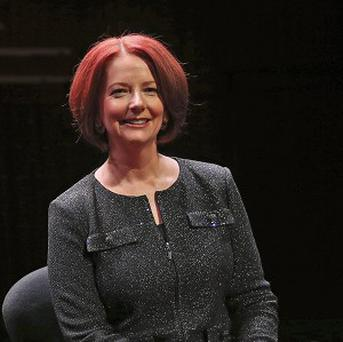 "Former Australian prime minister Julia Gillard says she was the target of ""aggressive sexism"" when in power (AP)"