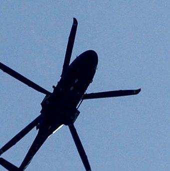A helicopter pilot died after being hit by the aircraft's rotor at the Bloomsburg Fair in Pennsylvania