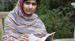 Malala Yousafzai, who was shot by the Taliban for trying to go to school
