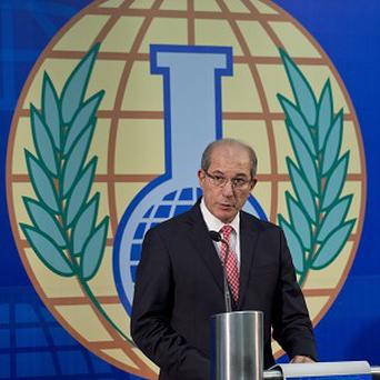 Director General Ahmet Uzumcu of the Organisation for the Prohibition of Chemical Weapons, OPCW, which has won the Nobel Peace Prize (AP)