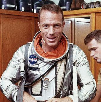 Scott Carpenter, one of the last surviving original Mercury 7 astronauts, has died aged 88 (AP)