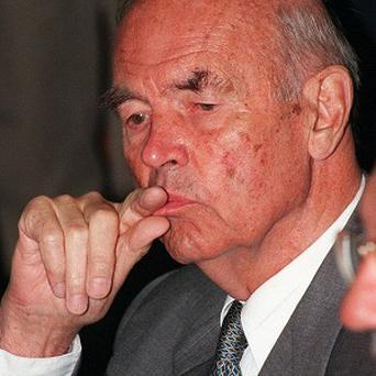 Former Nazi officer, Erich Priebke, sentenced to life for a 1944 massacre in Italy, has died aged 100 (AP)