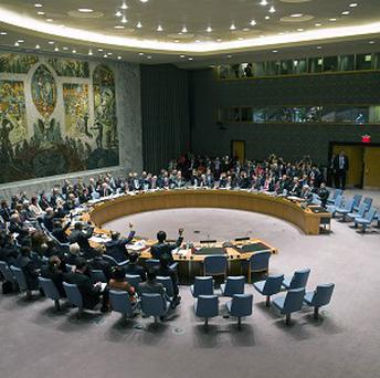 Saudi Arabia is rejecting its seat on the UN Security Council and says the 15-member body is incapable of resolving world conflicts (AP)